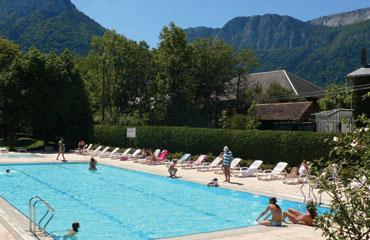 Camping La Serraz, Haute Savoie,Rhone Alpes,France