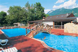 Camping Les Fontaines, Annecy Lathuile,Rhone Alpes,France