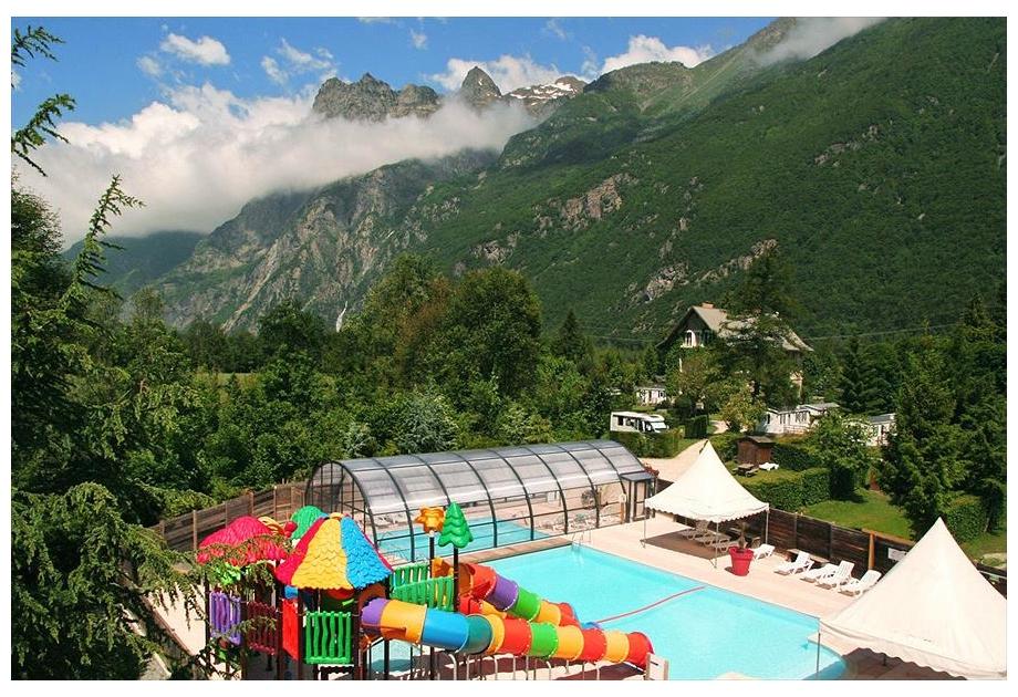 Campsite Le Chateau de Rochetaillee, Le Bourg-d'Oisans,Rhone Alpes,France
