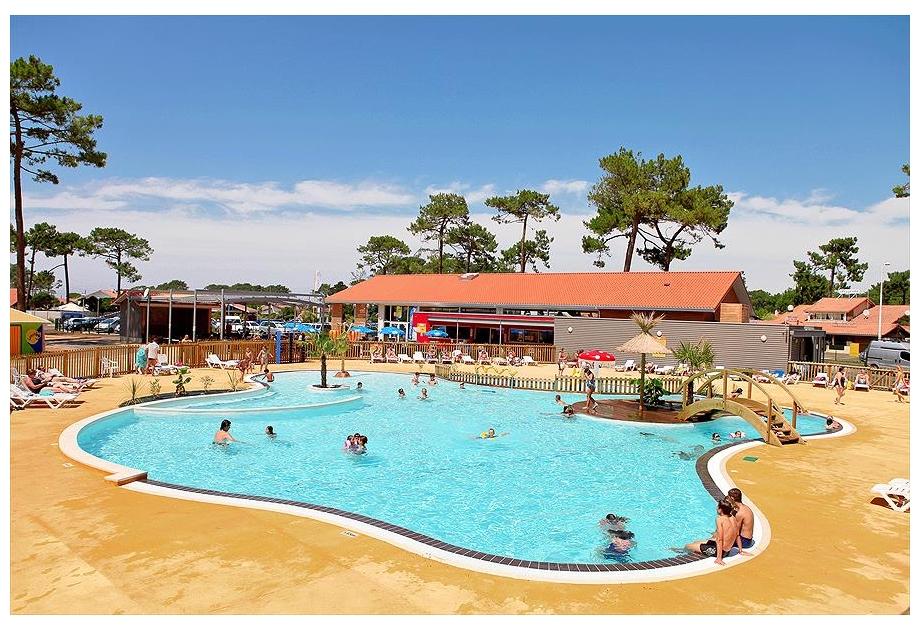 Campsite Campeole Plage Sud, Biscarrosse-Plage,Aquitaine,France