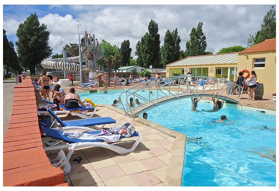 Campsite La Bolee d'Air, Saint-Vincent-sur-Jard,Loire,France