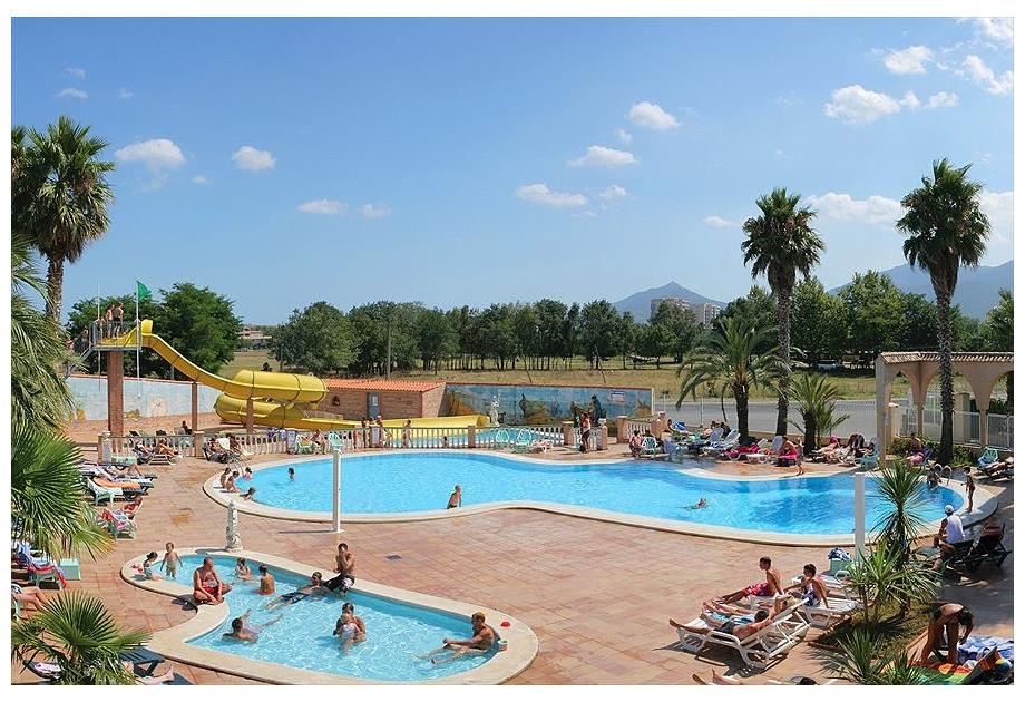 Campsite Tohapi Le Neptune, Argeles-sur-Mer,Languedoc Roussillon,France
