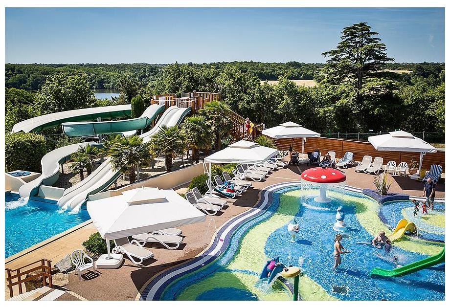 Campsite Yelloh! Village Le Pin Parasol, La Chapelle-Hermier,Loire,France