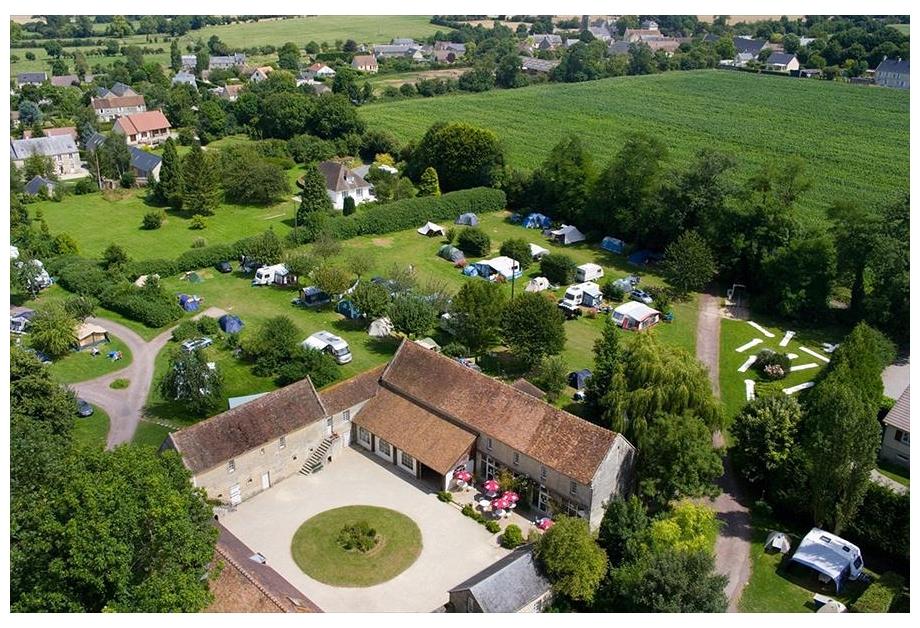 Campsite-Chateau-de-Martragny