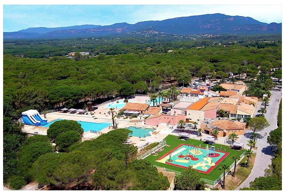 Campsite Parc Saint James Oasis, Puget-sur-Argens,Provence Cote d'Azur,France